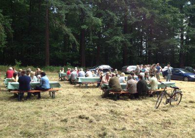 Das Sommerfest war wieder reichlich besucht.